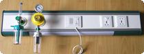Yatakbaşı; Flowmetre, Oksijen Regülatörü